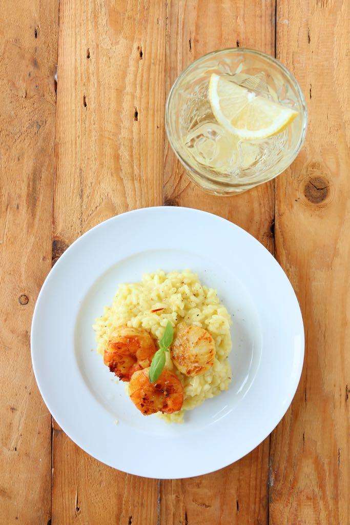 Risotto Bianco – endlich wieder Martini mit Reis