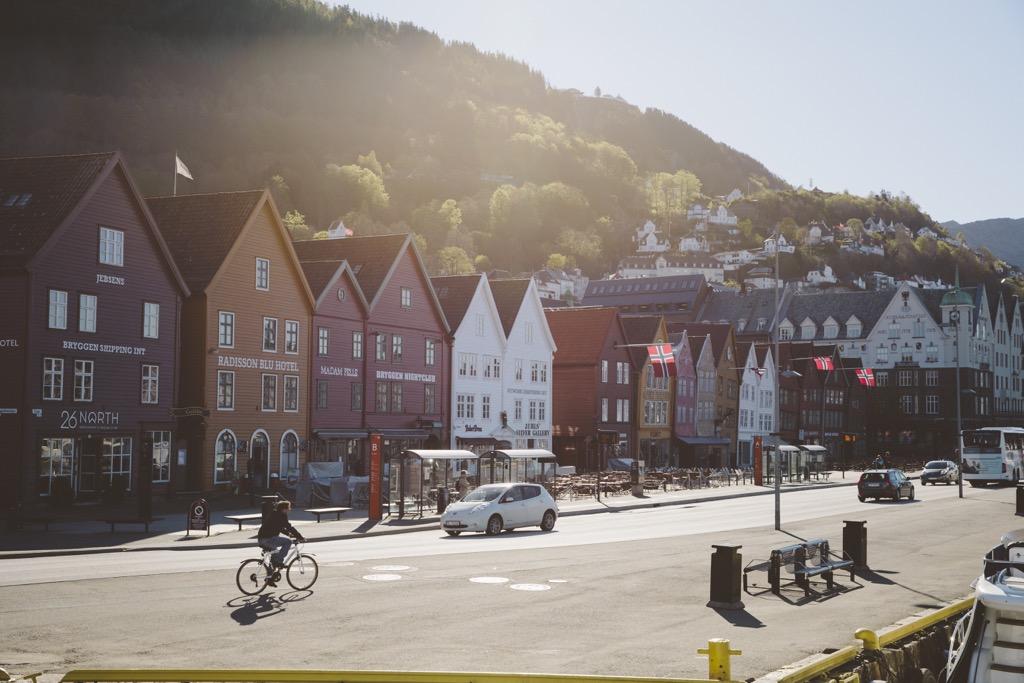 Bunte-Häuser-in-Bergen-Brygge-Norwegen