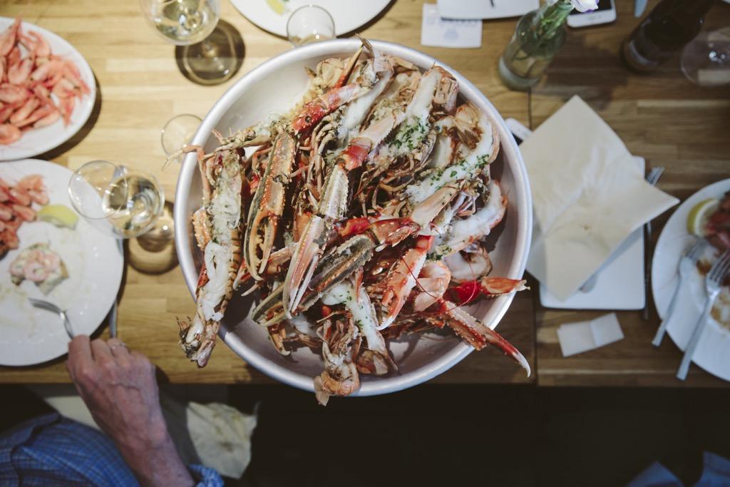 Cornelius-Fischrestaurant-Oyster-Dundee-Norwegen-köstliche-kaisergranat