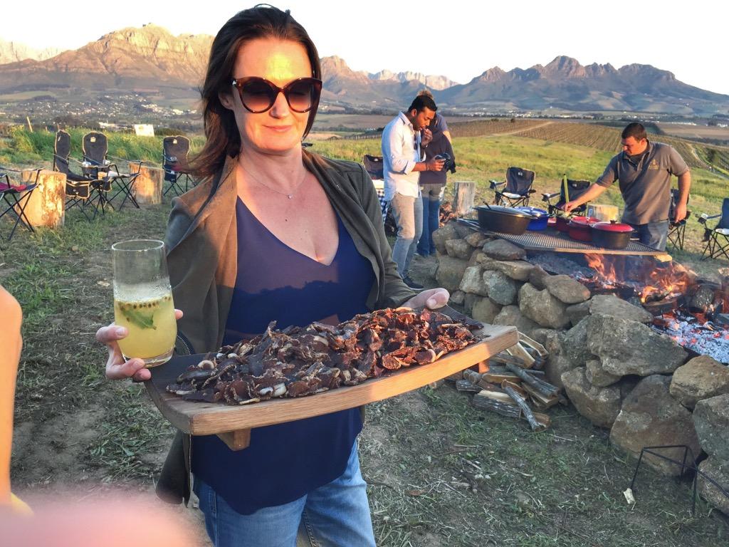 Südafrika-braai-snack