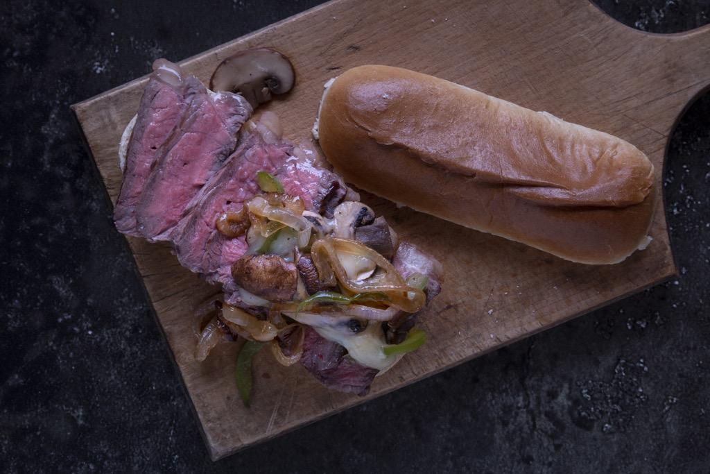 Philly-Cheese-Steak-Sandwich-köstlich