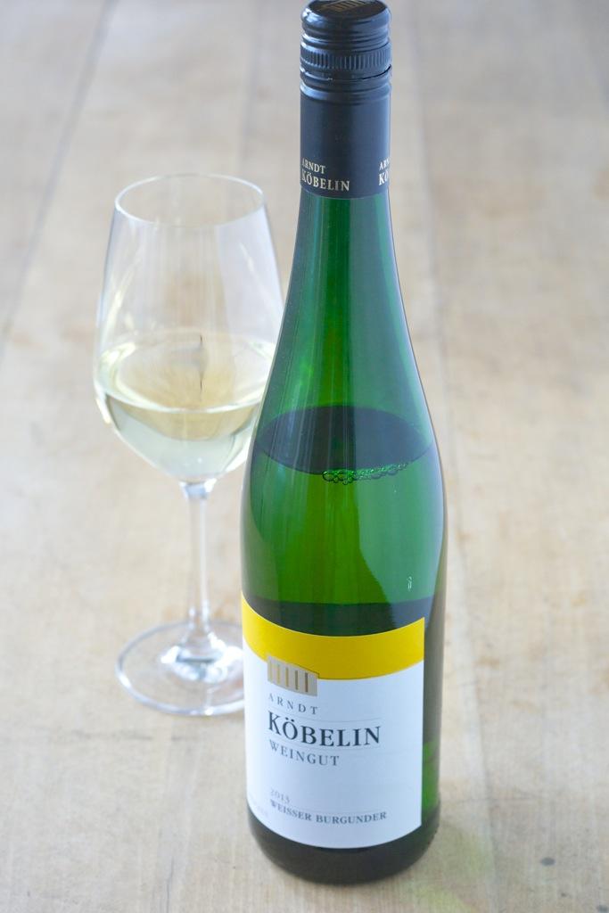 Wein(seligkeiten) Köbelin | Weisser Burgunder 2013 | Risotto vom grünen Spargel mit knusprigem Pancetta