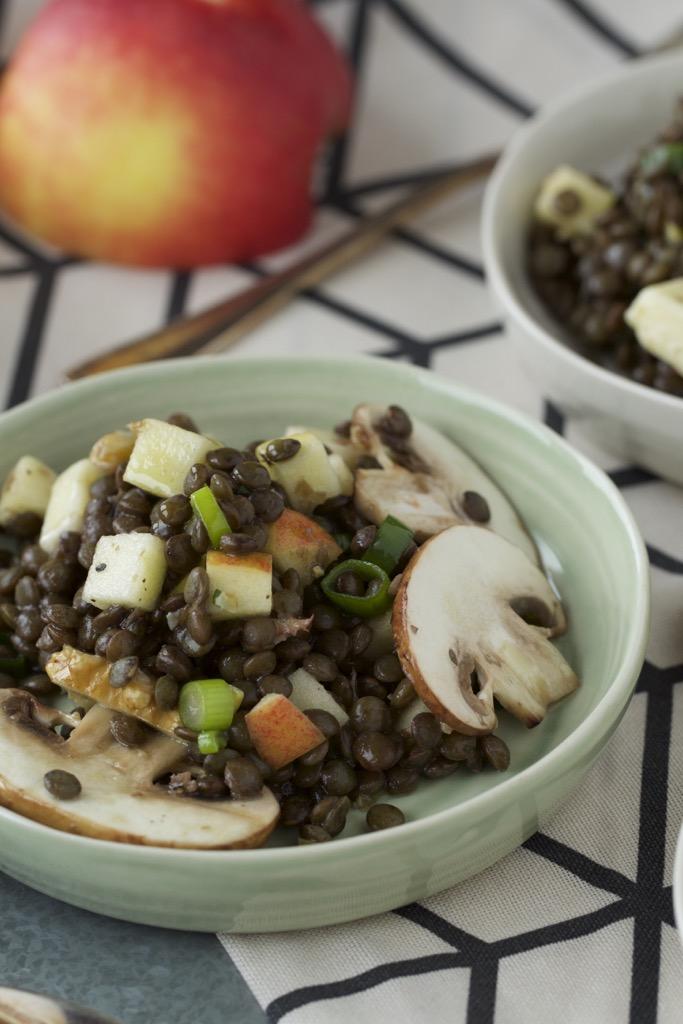 Linsen-Salat mit echten Albleisa