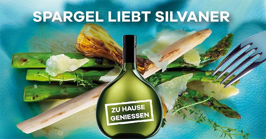 Spargel liebt Silvaner 퇖ebietsweinwerbung Frankenwein-Frankenland GmbH